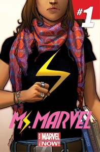 The new Ms. Marvel. Look how many clothes she has on!