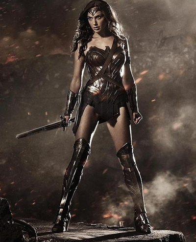 I need more than this! I want to see Gal Gadot's Wonder Woman fighting, jumping, kicking butt!