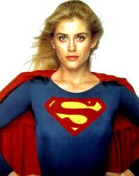 Super girl played by Helen Slater