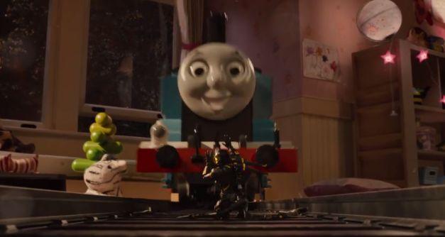 Darren Cross, aka Yellowjacket versus Thomas the Tank Engine