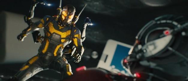 Ant-Man versus Yellowjacket