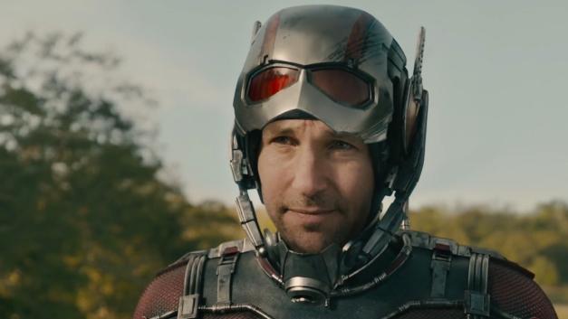 Paul Rudd as Scott Lang, aka Ant-Man.