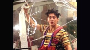 Remember when Jake couldn't punch his way out of a plastic bag?
