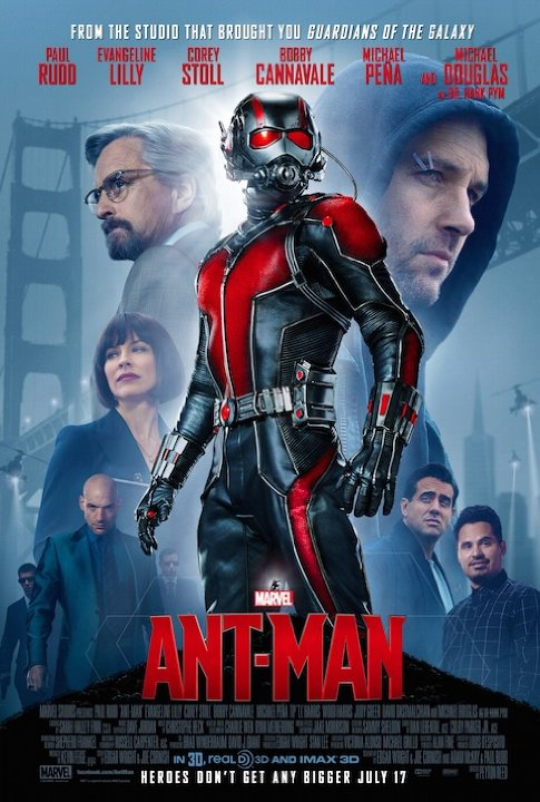 Ant-Man, in Theaters Now!